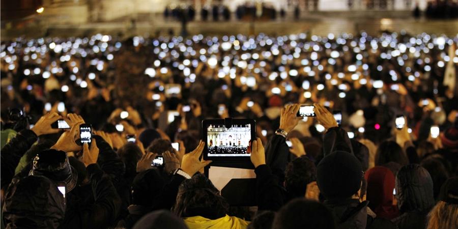 Vaticano na posse do posse do Papa Francisco   Michael Sohn/AP