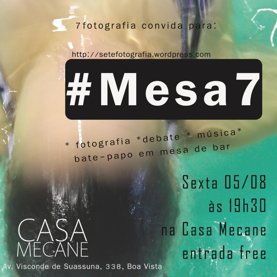 cartaz da #Mesa7