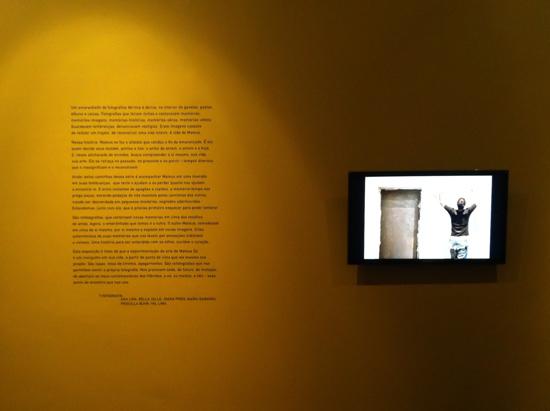 Nosso texto na exposição