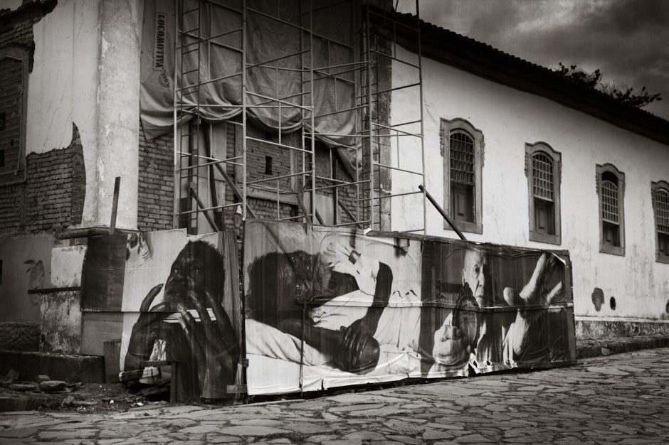 Projeto Giganto foi uma das novas ações que tomou as ruas de Tiradentes | Foto: Suelen Pessoa