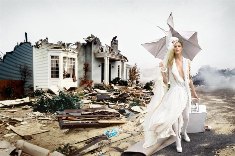 The disaster series | David LaChapelle para a Vogue Italiana
