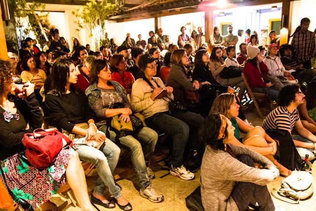 Público que assistiu a Martin Paar da telinha da Casa da Cultura   Bella Valle