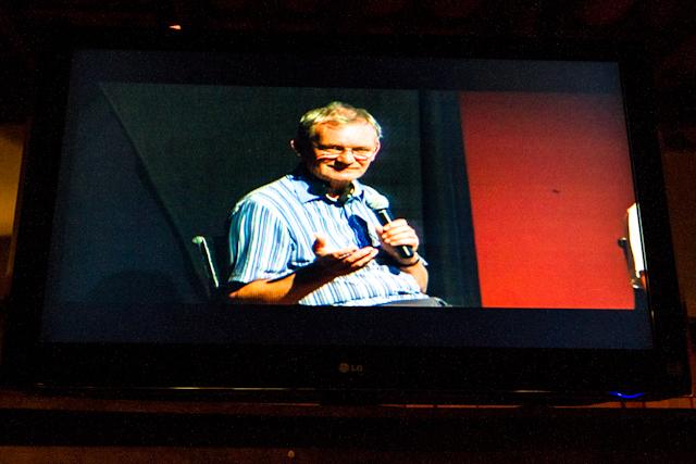 Martin Paar nos falando pela TV   Bella Valle