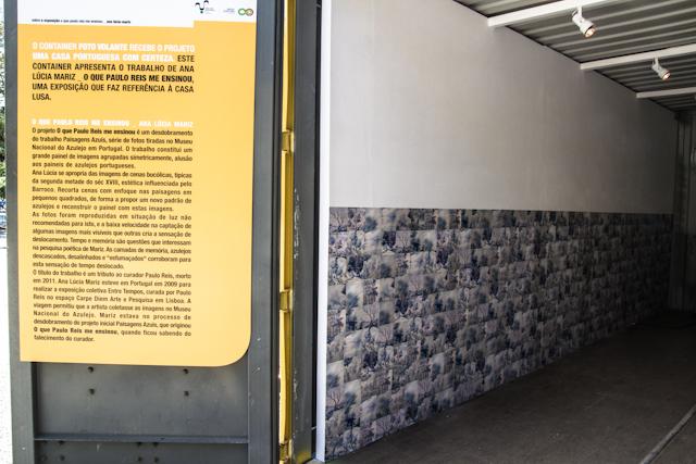Container com exposição de Ana Lucia Mariz   Bella Valle