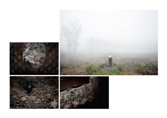 """Fotografias da série """"Sob o espelho de saturno"""" de Edu Monteiro, expostas no Centro de Arte Hélio Oiticica no Rio de Janeiro e no PHOTOVISA na Rússia"""