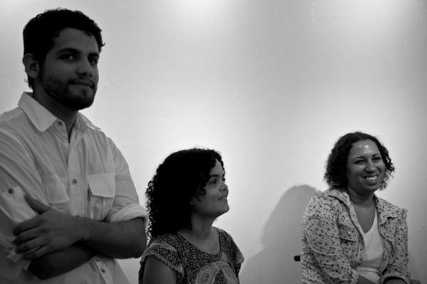 Bernardo Dantas, Alcione Ferreira e Priscilla Buhr | Ana Lira