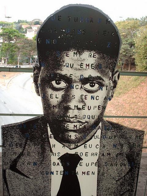 Painel da estação de metrô Sumaré, em São Paulo | Alex Flemming