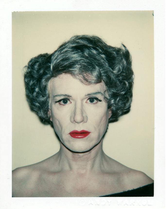 Autorretrato Drag | Andy Warhol (1980)