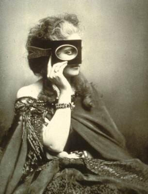 Virginia Oldoini (a Condessa de Castiglione) | Pierre-Louise Pierson (década de 1860)
