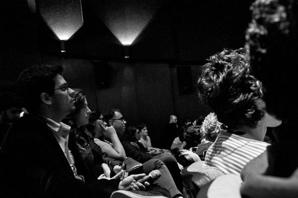 Participantes assistem debate intenso sobre curadoria no encerramento do evento no MIS em 2012 | Foto: Ana Lira