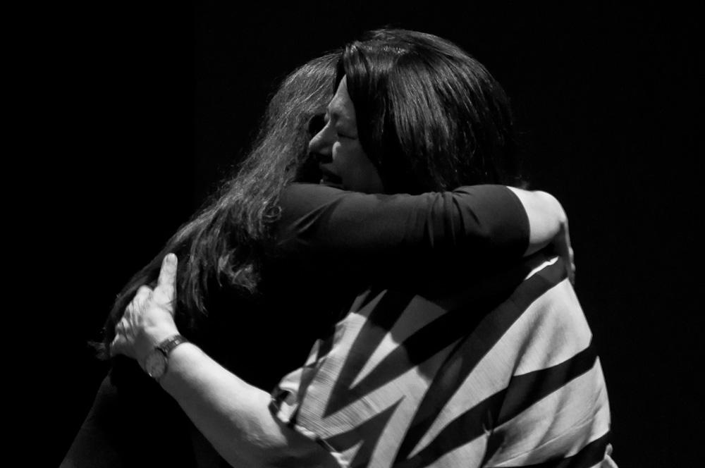 Ana Maria Schultze e Ana Mae Barbosa na Abertura do EFE | Foto Ana Lira/ Retratografia