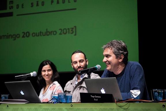 Julieta Escardó (ARG), Juan José Estrada (GUA) e Tiago Santana (BRA)   III Fórum Latino-Americano de Fotografia   Divulgação
