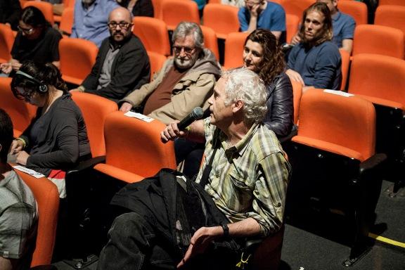 Luis Weinstein (CHILE) na platéia   III Fórum Latino-Americano de Fotografia   Divulgação